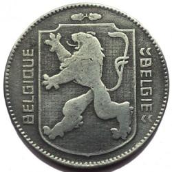 Minca > 1frank, 1941-1947 - Belgicko  (Legend - 'BELGIQUE - BELGIE') - obverse
