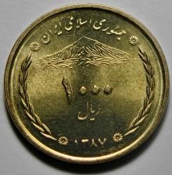 מטבע > 1000ריאל, 2008-2010 - איראן  - obverse