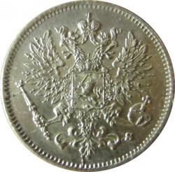 Монета > 25пенита, 1865-1917 - Финландия  - obverse