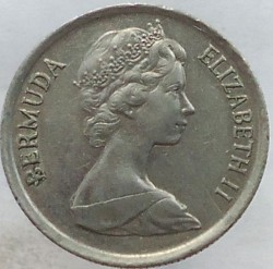 Minca > 10cents, 1983 - Bermudy  - obverse