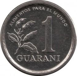 Moneta > 1guarani, 1978-1988 - Paraguay  - reverse