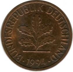 Münze > 1Pfennig, 1994 - Deutschland  - obverse