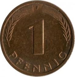 Münze > 1Pfennig, 1994 - Deutschland  - reverse