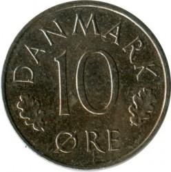 Moneda > 10ore, 1988 - Dinamarca  - obverse