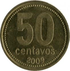 سکه > 50سنتاوو, 1992-2010 - آرژانتین  - obverse