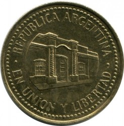 سکه > 50سنتاوو, 1992-2010 - آرژانتین  - reverse
