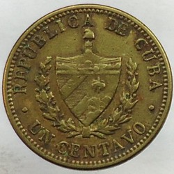Coin > 1centavo, 1943 - Cuba  - obverse