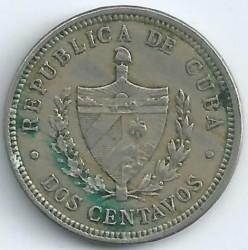 מטבע > 2סנטאבו, 1915-1916 - קובה  - obverse