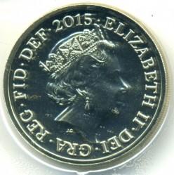 Moneta > 1svaras, 2015-2016 - Jungtinė Karalystė  - obverse