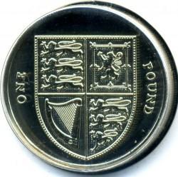 Moneta > 1svaras, 2015-2016 - Jungtinė Karalystė  - reverse