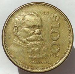 Coin > 100pesos, 1984 - Mexico  - reverse