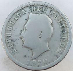 Munt > 5centavos, 1915-1925 - El Salvador  - reverse