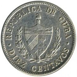 מטבע > 10סנטאבו, 1915-1949 - קובה  - obverse