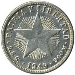 מטבע > 10סנטאבו, 1915-1949 - קובה  - reverse