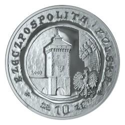 Moneda > 10zlotych, 2007 - Polonia  (750 aniversario - Garantia de los Derechos Municipales en Cracovia) - obverse