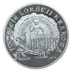 Moneda > 10zlotych, 2007 - Polonia  (750 aniversario - Garantia de los Derechos Municipales en Cracovia) - reverse