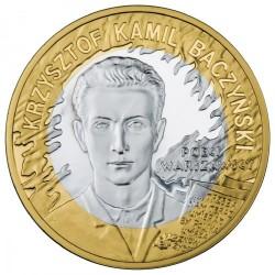 Moneda > 10zlotych, 2009 - Polonia  (65 aniversario - Revuelta de Varsovia - Krzysztof Kamil Baczyński) - reverse
