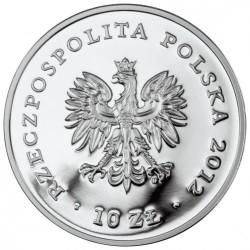 Moneda > 10zlotych, 2012 - Polonia  (150 aniversario - Museo del Pueblo en Varsòvia) - obverse