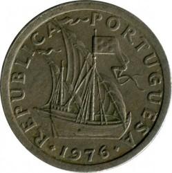 Монета > 2.5ескудо, 1976 - Португалия  - reverse