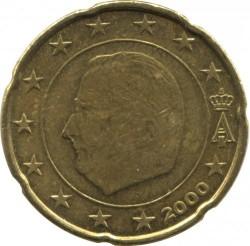 Монета > 20центов, 2000 - Бельгия  - obverse