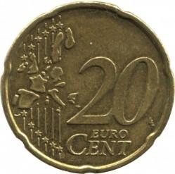 Монета > 20центов, 2000 - Бельгия  - reverse