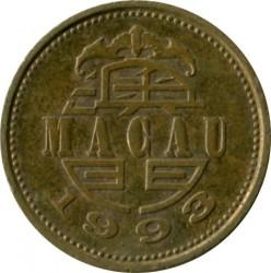 Moneta > 10avos, 1993-2010 - Makau  - obverse