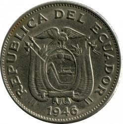 Pièce > 1sucre, 1946 - Équateur  - obverse