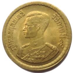 Coin > 5satang, 1957 - Thailand  (Aluminium-Bronze /yellow color/) - obverse