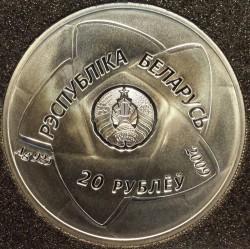 Moneda > 20rublos, 2009 - Bielorrusia  (XXX Juegos Olímpicos de Verano, Londres 2012) - obverse