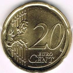 מטבע > 20סנט, 2015-2018 - ליטא  - reverse