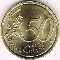 מטבע > 50סנט, 2015-2018 - ליטא  - obverse