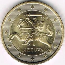 מטבע > 50סנט, 2015-2018 - ליטא  - reverse