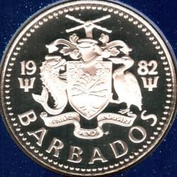 Монета > 5доларів, 1973-1982 - Барбадос  (Фонтан) - obverse