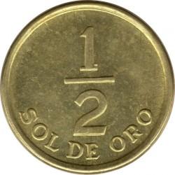 Moneta > ½sol, 1975-1976 - Perù  - reverse