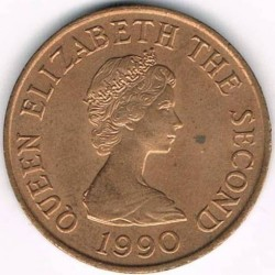 Coin > 1 penny, 1983-1992 - Jersey  - obverse