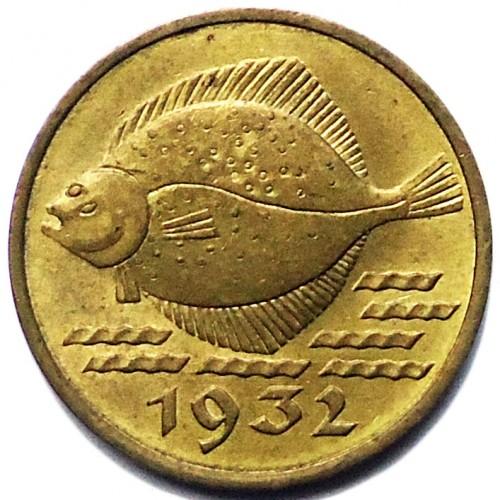 5 Pfennig 1932 Danzig Münzen Wert Ucoinnet