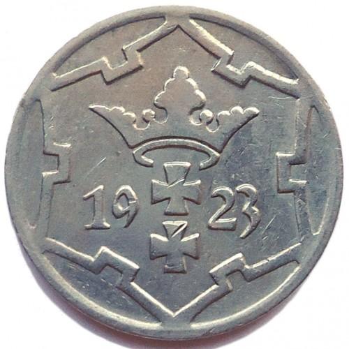 5 Pfennig 1923 1928 Danzig Münzen Wert Ucoinnet