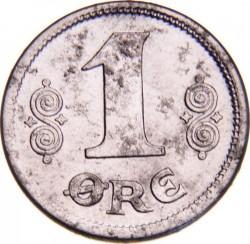 Moneta > 1ore, 1918-1919 - Dania  - reverse