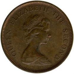 מטבע > 2פנס, 1981 - ג'רזי  - obverse