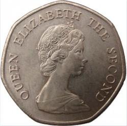 Moeda > 20pence, 1982 - Jersey  - obverse
