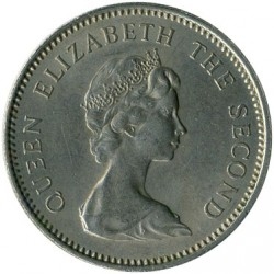 Moeda > 5pencenovos, 1968-1980 - Jersey  - obverse