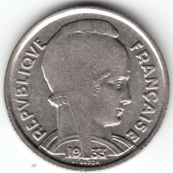 Moneta > 5franchi, 1933 - Francia  (Volto donna a destra) - reverse