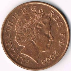 Münze > 1Penny, 2008-2015 - Vereinigtes Königreich   - obverse