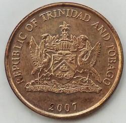 Münze > 5Cent, 1976-2016 - Trinidad und Tobago  - obverse