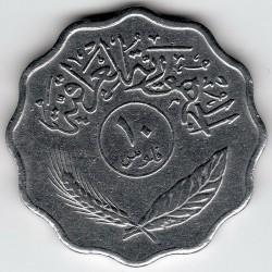 Монета > 10філсів, 1971-1980 - Ірак  - reverse