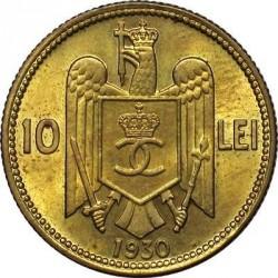 Монета > 10леи, 1930 - Румъния  - reverse
