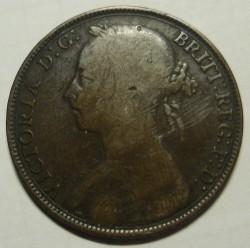 Moneta > 1pens, 1874-1894 - Wielka Brytania  - obverse