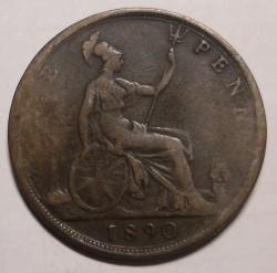 Moneta > 1pens, 1874-1894 - Wielka Brytania  - reverse