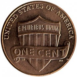Moneda > 1 centavo, 2010-2019 - Estados Unidos  (Lincoln Cent) - reverse