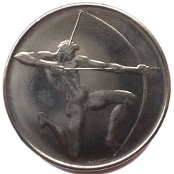 Moneda > 100lire, 1980 - San Marino  (XXII Jocs Olímpics d'estiu, Moscou 1980) - obverse
